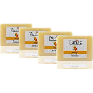 Orange Soap - Combo Set of 4 (100g each)