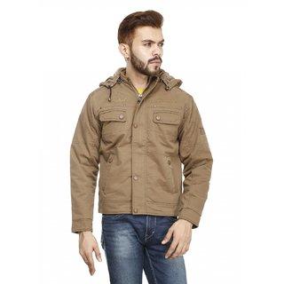 La Scoot Brown Men Jacket - Size M