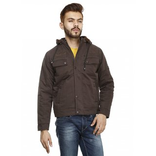 La Scoot Brown Men Jacket - Size XL