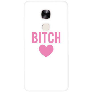 GripIt Bitchy Heart Printed Casefor LeEco Le Max 2