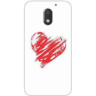 GripIt Sweet Love Printed Case for Motorola Moto E3