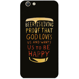 GripIt Beer Is Proof Printed Case for Oppo F1s