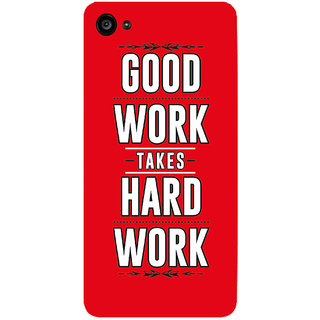 GripIt GOOD WORK Printed Case for Lenovo Zuk Z2 Plus