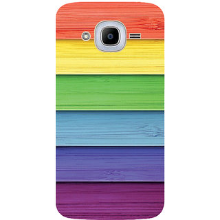 GripIt Painted Wood Printed Case for Samsung Galaxy J2 Pro