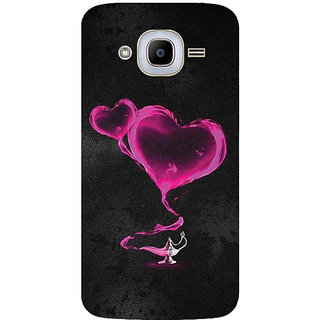 GripIt Pink Hearts From The Magic Lamp Printed Case for Samsung Galaxy J2 (2016)