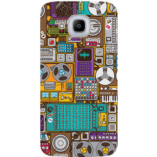 GripIt Retro Music Devices Printed Case for Samsung Galaxy J2 Pro