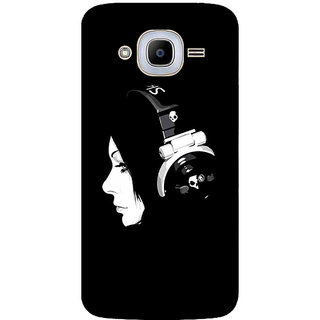 GripIt DJ Girl Printed Back Cover for Samsung Galaxy J2 Pro