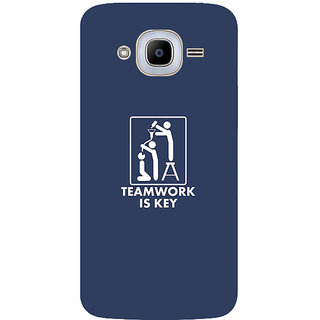 GripIt Teamwork Printed Case for Samsung Galaxy J2 (2016)