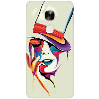 GripIt Painted Woman Printed Casefor LeEco Le Max 2