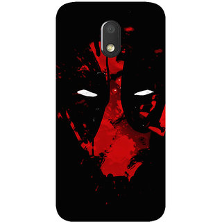 GripIt Deadpool Printed Case for Motorola Moto E3
