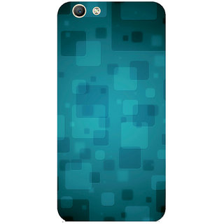 GripIt Floating Squares Printed Case for Oppo F1s