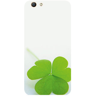 GripIt Leaves Printed Case for Oppo F1s
