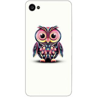 GripIt Coloueful Owl Printed Case for Lenovo Zuk Z2 Plus