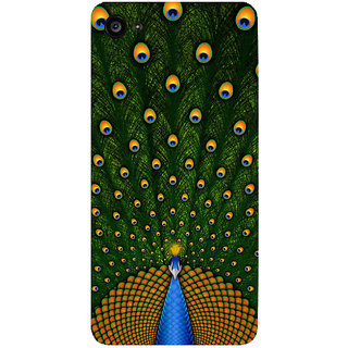 GripIt Peacock Printed Back Cover for Lenovo Zuk Z2 Plus