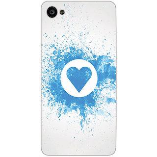 GripIt Splash Heart Pattern Printed Case for Lenovo Zuk Z2 Plus