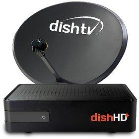 Dish TV HD+ Recorder  All India(1 Month Titanium Full On HD)