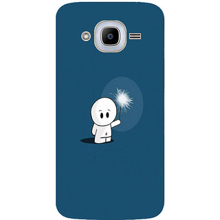 GripIt Alone In The Dark Printed Case for Samsung Galaxy J2 Pro