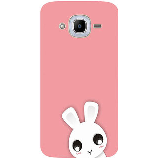 GripIt Cute White Kitty Printed Case for Samsung Galaxy J2 Pro