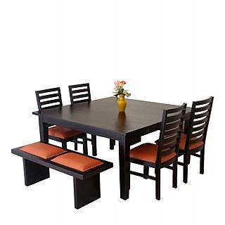 Harshita Handicraft's 8 Seater Sheesham Wood Dining Set