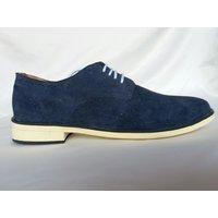 Men's Blue Lace Up Casual Shoes