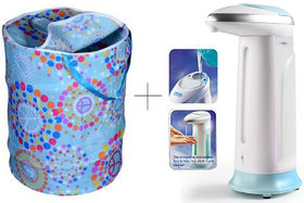 Buy Small Laundry Bag With Free 2 Pcs Soap Dispenser - ESYSSDIS2