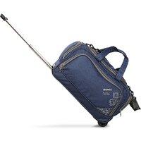 Novex Chase Blue 2 Wheel Duffle Trolley Bag