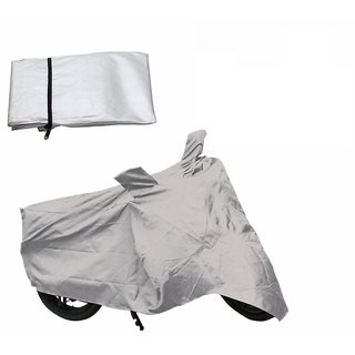 Autoplus Two Wheeler Cover For Honda CB Unicorn (Silver)