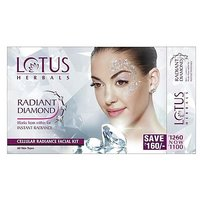 Lotus Herbals Radiant Diamond Facial Kit - 101521353