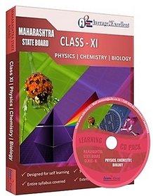 Maharashtra Board Class 11 Combo Pack Physics, Chemistry  Biology