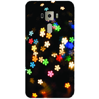GripIt Falling Flowers Printed Case for Asus Zenfone 3 Laser