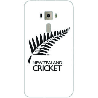 GripIt New Zealand Cricket Board Back Cover for Asus Zenfone 3