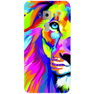 GripIt Rainbow Lion Printed Case for Asus Zenfone 3