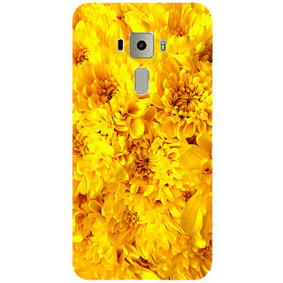 GripIt Yellow Flowers Printed Case for Asus Zenfone 3