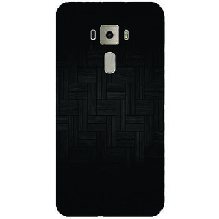 GripIt Wood Tiles Printed Case for Asus Zenfone 3 Laser