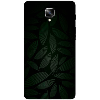 GripIt Dark Tropical Printed Casefor OnePlus 3