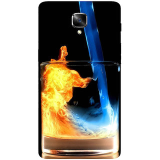 GripIt Fiery Whiskey Printed Casefor OnePlus 3