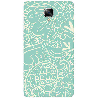 GripIt Nature Paisley Printed Casefor OnePlus 3