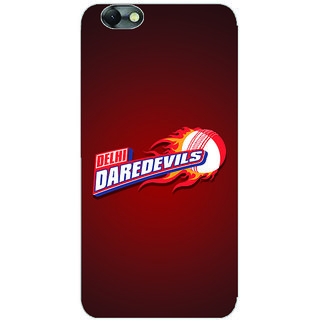 GripIt Delhi Dare Devils (RED) Case for Lenovo Vibe C