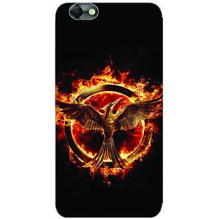 GripIt Hunger Games Printed Back Cover for Lenovo Vibe C