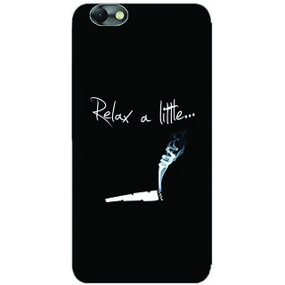 GripIt Relax A Little Printed Case for Lenovo Vibe C
