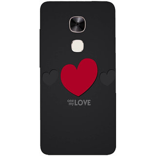 GripIt One Love Printed Back Cover for LeEco Le2