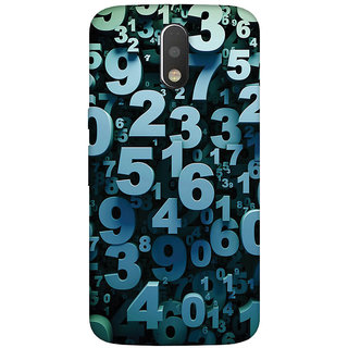 GripIt Mathematics & Digits Case for Motorola Moto G4 Plus