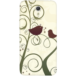 GripIt Birds Case for Lenovo Zuk Z1
