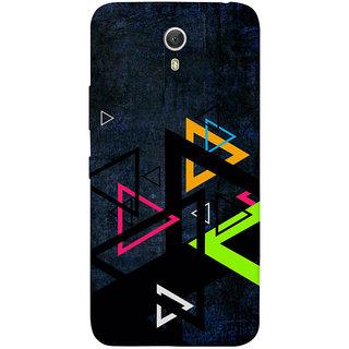 GripIt Colourful Triangles Back Cover for Lenovo Zuk Z1
