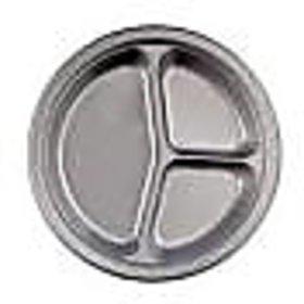 Salunke Industries Silver Paper Plate 14 inch /1000