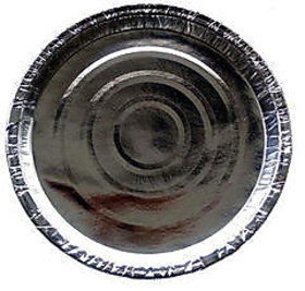 Salunke Industries Silver Kangura Thali 13 inch/1000