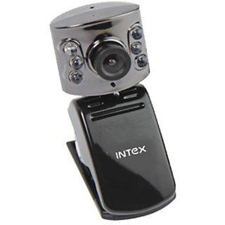 Intex Pc Webcam Night Vision 601k (It-306wc) Webcam