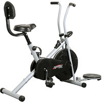 Deemark Body Gym Air Bike 1001 with Back Rest  Twister