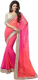 Fashions Women's Chiffon Saree