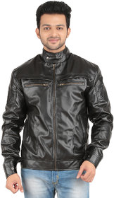 Cascara Full Sleeve Solid Men's Jacket